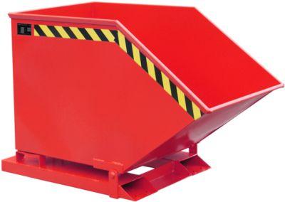Kiepcontainer SKK 600, rood
