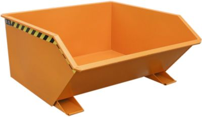 Kiepcontainer type GU 750 oranje