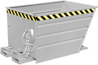 Kiepcontainer VG 1100, grijs
