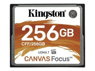 Kingston Canvas Focus - Flash-Speicherkarte - 256 GB - CompactFlash