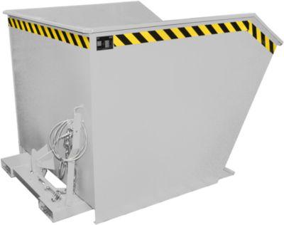 Kippbehälter Typ GU, 1500 Liter, verzinkt