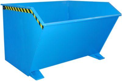 Kippbehälter Typ GU, 2000 Liter, blau