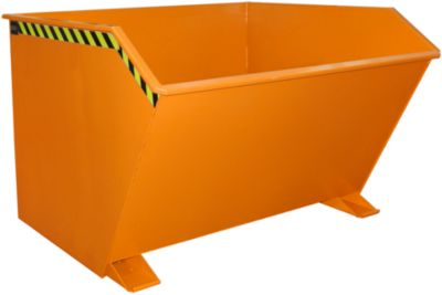Kippbehälter Typ GU, 2000 Liter, orange