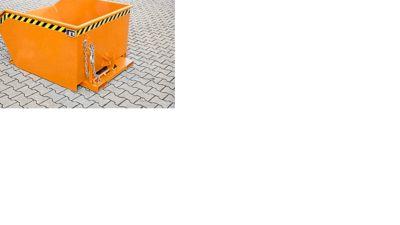 Kippbehälter Typ GU, 300 Liter, orange