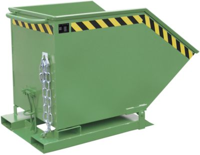 Kippmulde KK 600, grün (RAL 6011)