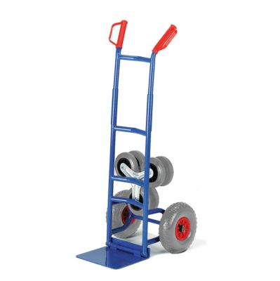 Klapp-Treppenkarre mit Wechselrädern