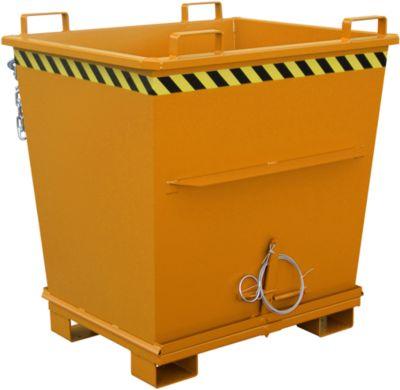 Klappbodenbehälter BKB 1000, orange