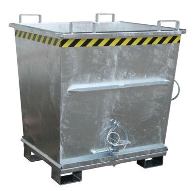 Klappbodenbehälter BKB 1000, verzinkt
