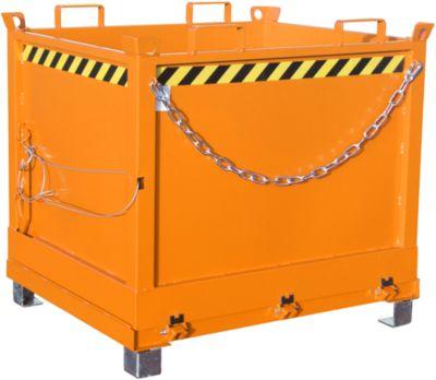 Klappbodenbehälter FB 1000, orange