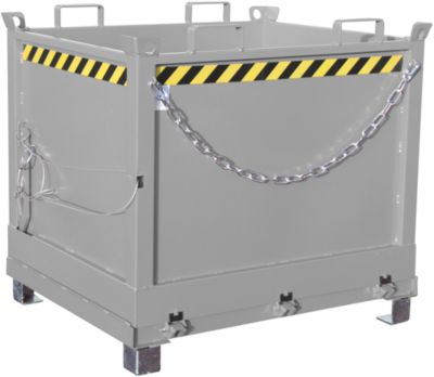 Klappbodenbehälter FB 1000, verzinkt