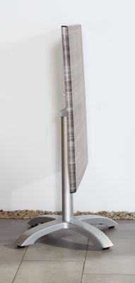 Klapptisch Maestro 80 x 80 cm, silber/Tempera