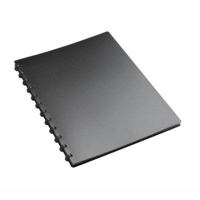 Klarsichthüllen Sichttasche FolderSys, A4, 20 Hüllen, 12 Ringe, T-Stanzung, Kunststoff
