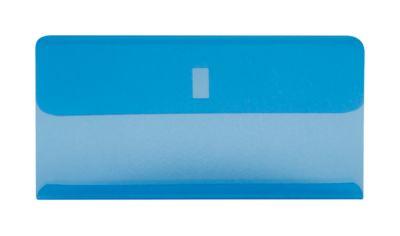 Klarsichthülsen, blau, 25 Stück
