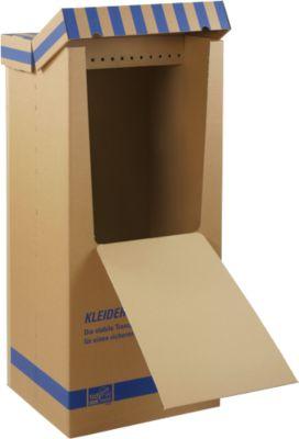 Kledingbox Speed tweevoudig gegolfd, set van 2