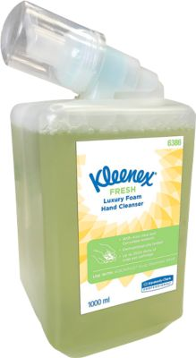 KLEENEX Duftschaumseife Fresh, grün, 1 Liter