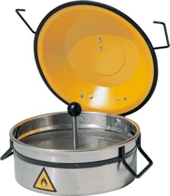 Kleine onderdelenreiniger, roestvrij staal, 2,5 liter, 2,5 liter