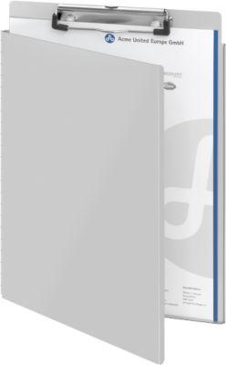 Klemmbrett, DIN A4, Aluminium, mit Aufhängeöse