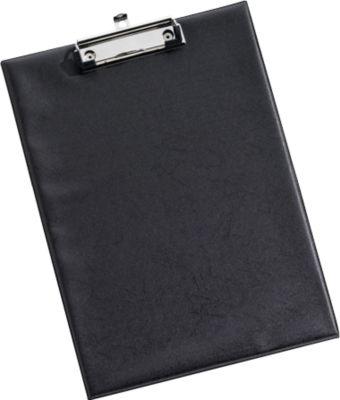 Klemmbrett, DIN A4, Kunststoff, mit Aufhängöse, schwarz