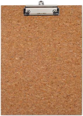 Klemmbrett Maul, Format A4, Klemmweite 8 mm, Kork naturbelassen, auch zum Aufhängen