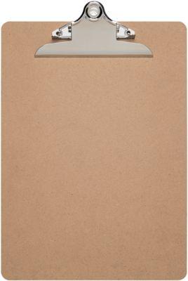 Klemmbrett Maul MAULclassic, Format A4, Klemmweite 15 o. 25 mm, Hartfaserholz, auch zum Aufhängen