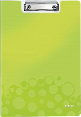 Klemplaat met omslag WOW - A4 - Groen