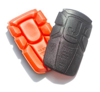 Kniepolster orange/schwarz