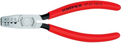 KNIPEX adereindhulptang voor adereindhulzen 145 mm