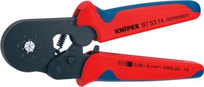 KNIPEX Krimptang met krimpkous 180 mm