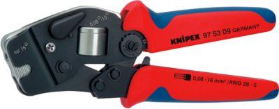 KNIPEX krimptang met krimpkous 190 mm