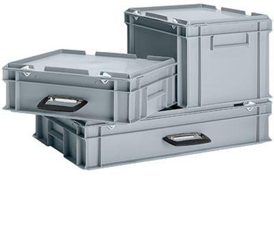 Koffer 3-dlg set van polypropeen