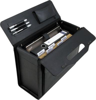 Koffer met laptopvak en hangmapfunctie Alassio® VERONA