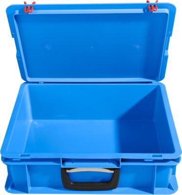 Koffer van polypropeen, blauw