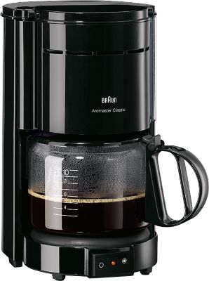 Koffiezetapparaat, Braun, KF47/1, wit
