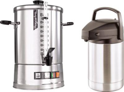 Koffiezetapparaat Hogastra® CNS 100 + pompvacuümmontainer, gratis