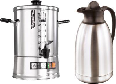 Koffiezetapparaat Hogastra® CNS 75+vacuümkan, gratis