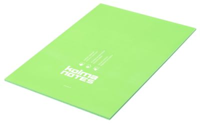 Kolma Notes statische Notizzettel , A4, 50 Blatt, grün