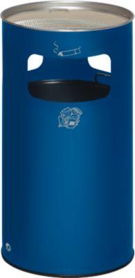 Kombi-Ascher, H 750 mm, enzianblau