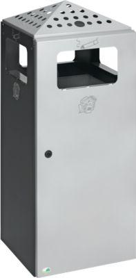 Kombi-Ascher H92 anthrazit RAL7021