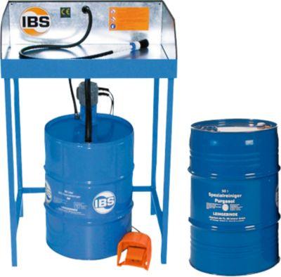 Kombination Teilereinigungsgerät Typ BK und Spezialreiniger
