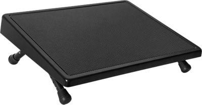 Komfort-Fußstütze, schwarz