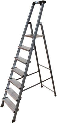 Komfortstufen-Stehleiter Securo, 7 Stufen