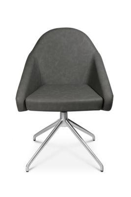 Konferenzsessel Topstar Sitness 5.0, 3D-Sitzfläche, sitzhöhenverstellbar, drehbar, anthrazit