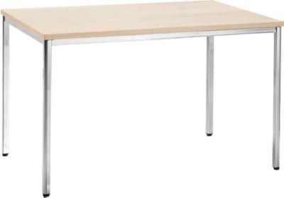 Konferenztisch, 1200 x 800 mm, Ahorn-Dekor