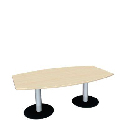 Konferenztisch, B 2000 mm, Ahorn