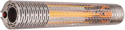 Koolstofstraler MARS, wand-/plafondmontage, IP65, 2000 W, tot 65 m³, met afstandsbediening