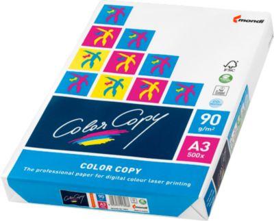 Kopieerpapier Mondi ColorCopy, DIN A3, 90 g/m², zuiver wit, 1 verpakking = 500 vellen
