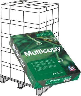 Kopieerpapier MultiCopy, DIN A4, 80 g/m², wit, 1 pallet = 200 x 500 vellen