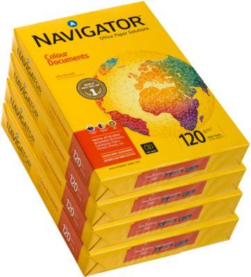 Kopieerpapier NAVIGATOR Colour Documents, A3-formaat, 120 g/m², 2000 vellen (4x 500 vellen)
