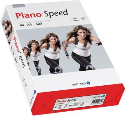 Kopieerpapier Papyrus Plano® Snelheid, DIN A4, 80 g/m², wit, 1 doosje = 10 x 500 vellen