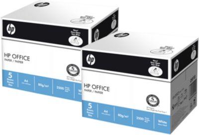 Kopierpapier Hewlett Packard Office, DIN A4, 80 g/m², weiß
